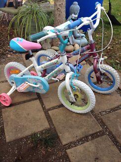 """Huffy 12"""" girls bikes"""