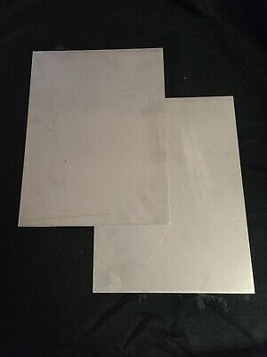 16 Gauge 304 Stainless Steel Sheet Metal 9x12 2pcs. 116 Thick
