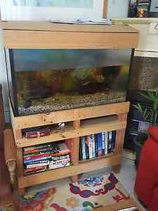 Large fish tank with stand Beverly Hills Hurstville Area Preview