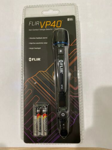 FLIR VP40 - Non-Contact Voltage Detector - with LED Flashlight - 24-1000V ac