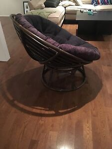 Retro bamboo chair