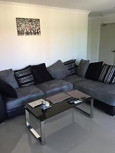 NEAR NEW CORNER CHAISE (SEUDE SOFA) Redcliffe Belmont Area Preview