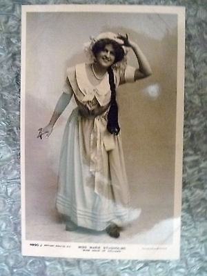 Postcard- Actresses MISS MARIE STUDHOLME (Theatre Actresses)