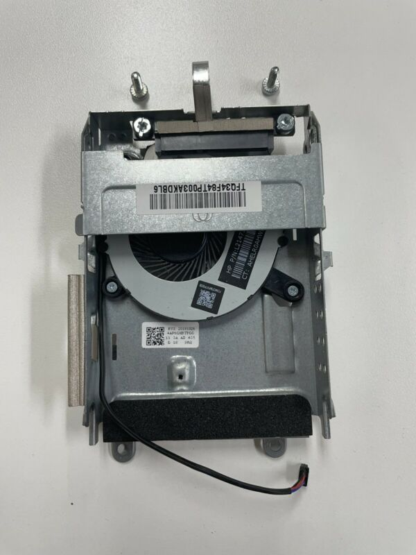 HP EliteDesk 800  G3 G4 Mini Hard Drive Caddy w SATA Cable and? hdd Fan
