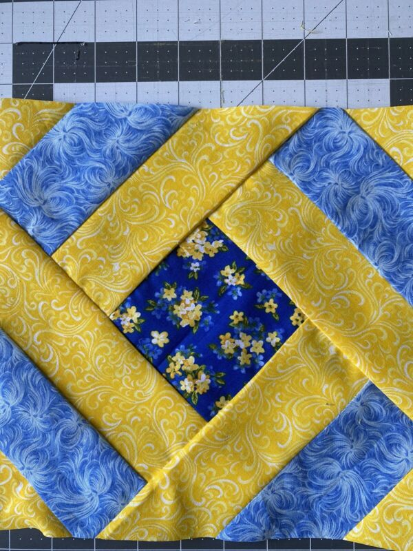 20 Blue And Yellow Quilt Blocks