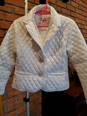 Il Gufo Childrens Girls Puffer Jacket  Size  6