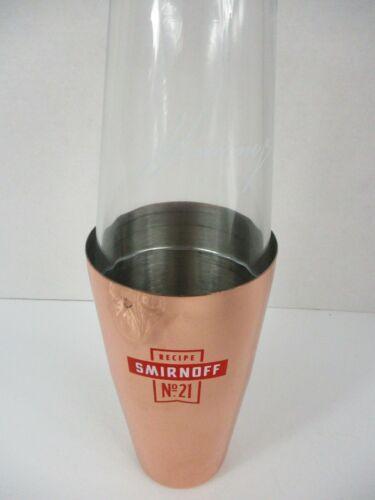 Smirnoff No 21 Recipe Vodka Cocktail Drink Shaker Glass New