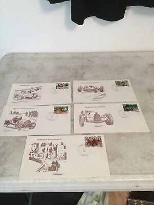 Ivory Coast Racing Covers Set of 5