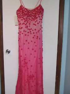Never worn formal pink gown