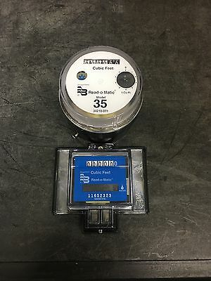 Badger Model 35 Water Meter Pulse Register And Remote Package. Cubic Feet
