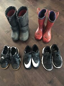Assorted boys shoes - size 11