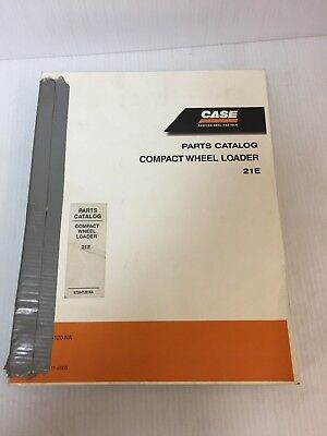 Case 21e Compact Wheel Loader Parts Catalog Manual