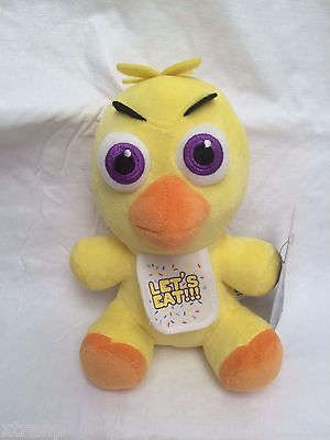 New Authentic Five Nights At Freddys Chica 7  Plush Stuffed Fnaf Usa Seller