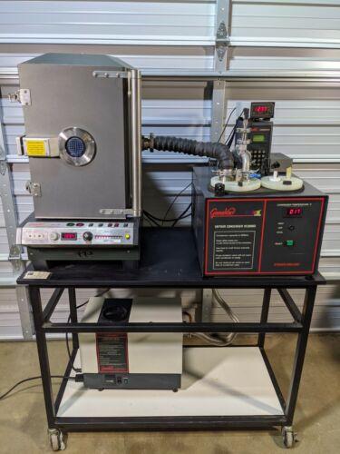 GeneVac Evaporation System HT-12 Atlas Evaporator VC3000D Condenser CVP100 Pump