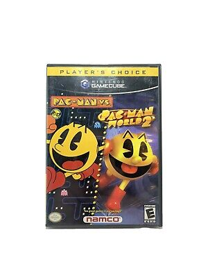 Pac-Man Vs Pac-Man World 2 - Nintendo GameCube - Video Game Complete with Manual