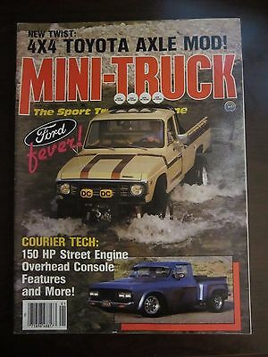 Mini Truck Magazine January 1984 3x3 Toyota Axle Mod Ford Fever (AY) Mini Truck Magazine