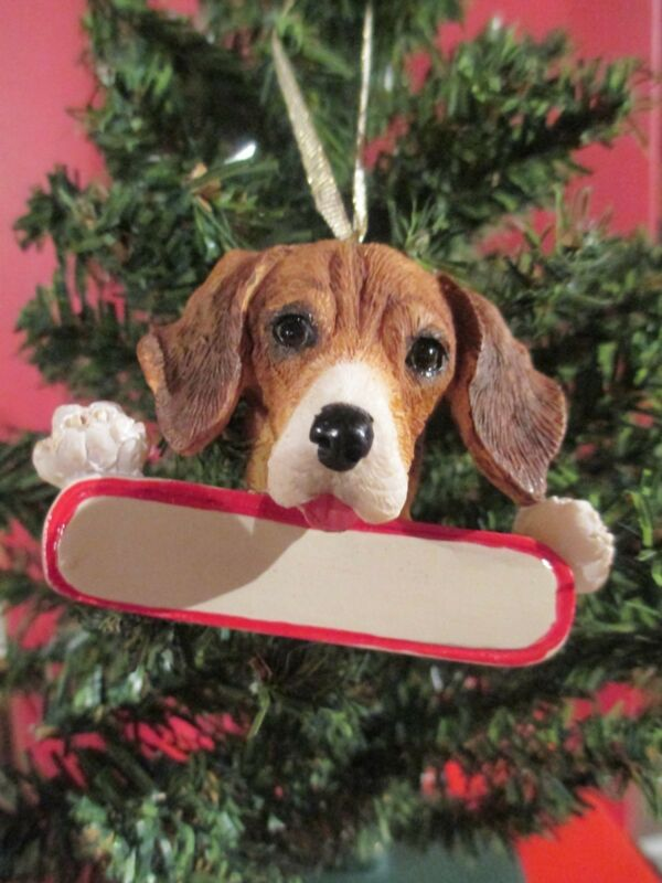 BEAGLE  ORNAMENT     # 3