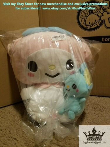 Sanrio My Melody & Flat-kun Together Med Plush!! + 1 Entry for Mystery Giveaway!