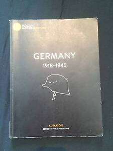 Germany 1918 - 1945 by KJ Mason year 11 textbook Darch Wanneroo Area Preview