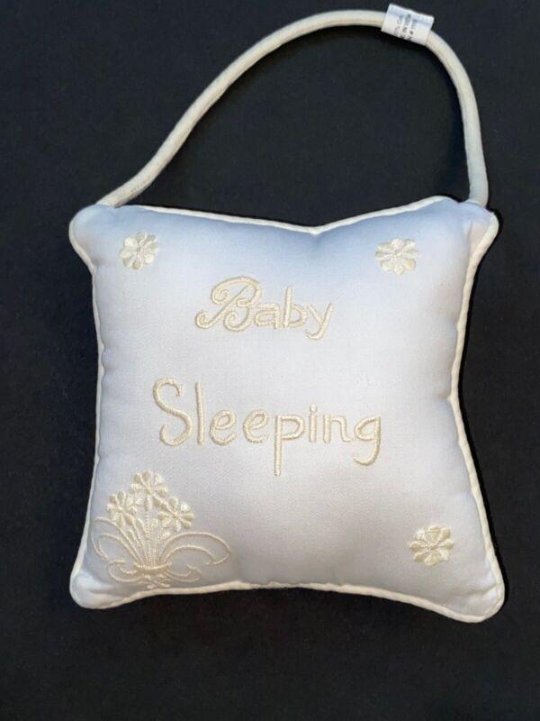 Baby Sleeping Asleep Awake Door Pillow Hanger