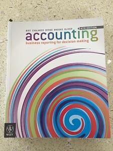 accounting- business reporting for decision making Blackmans Bay Kingborough Area Preview