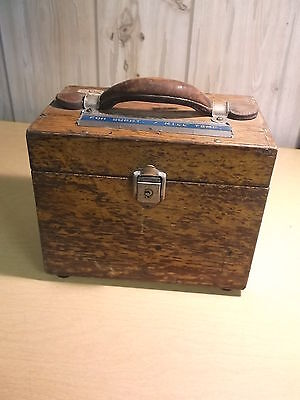 Ln Potentiometer Leeds Northrup Vintage In Wooden Case Free Shipping