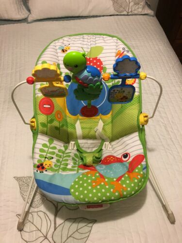 Fisher Price Colorful  Bouncers & Vibrating  Infant Baby Chair