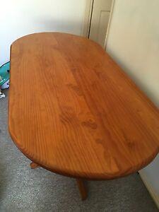 Wooden 6 seater table Maryland Newcastle Area Preview