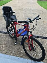 Mountain Bike for sale - includes BABY SEAT BE QUICK MOVING HOUSE Everton Park Brisbane North West Preview