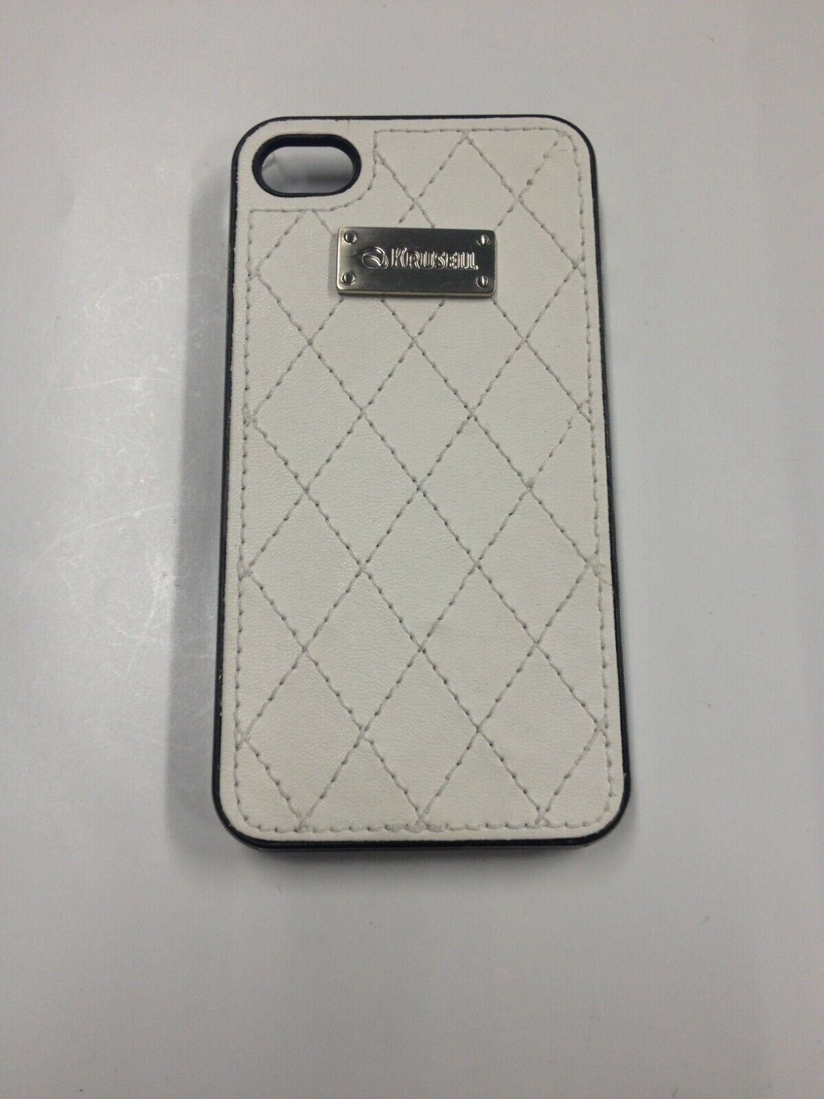 Krusell Coco Undercover iPhone 4 Case - White-89516-