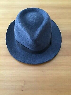 NWT!! PAUL SMITH MENS WOOL FEDORA HAT, SIZE M  $195