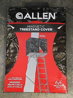 Allen Ladder Treestand Magnetic Cover Realtree Xtra Camo