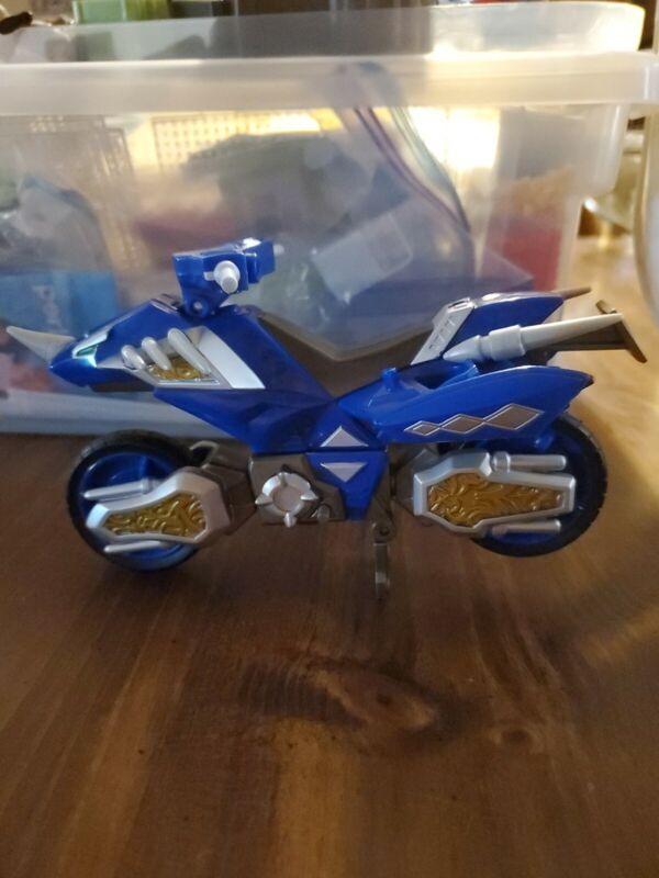 Power Rangers Dino Thunder Vehicle Blue Hovercraft Motor Cycle Bandai 2004