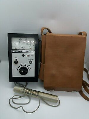 Detector Radiometer Polon Rk-67-3 Geiger Counter. Rare Dosimeter Vintage Europe