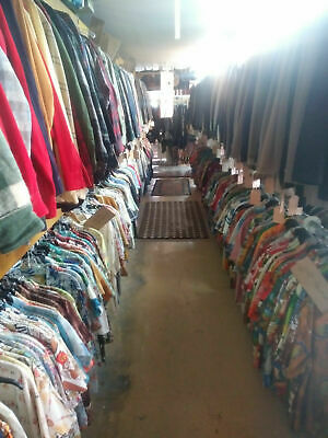 MENS VINTAGE CLOTHING STORE LOT 40's-70's - 70s Clothes Store