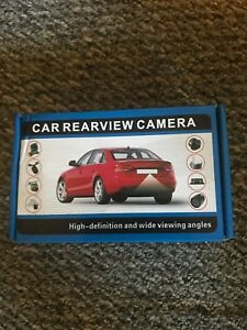 Rear view camera only