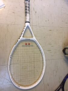 Wilson N1 force white tennis racket with case!!!