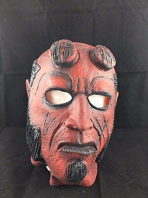 Hellboy Film - Latex Deluxe Halloween Karneval Cosplay Maske Kostüm (Hellboy Halloween Kostüme)