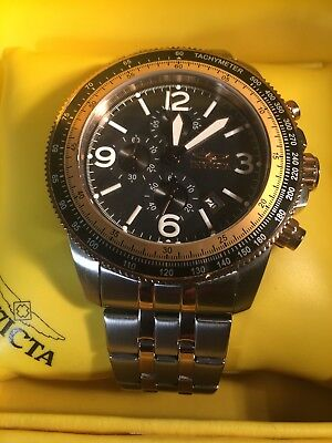 Invicta Specialty Watch Gold and Black Model 21388 Never Worn!!!