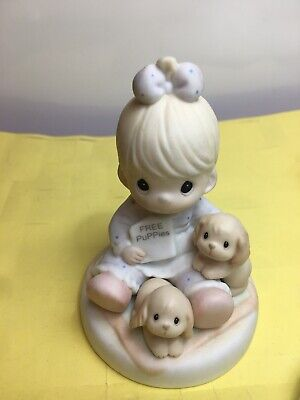 Precious Moments God Loveth A Cheerful Giver Figurine 1996 272477