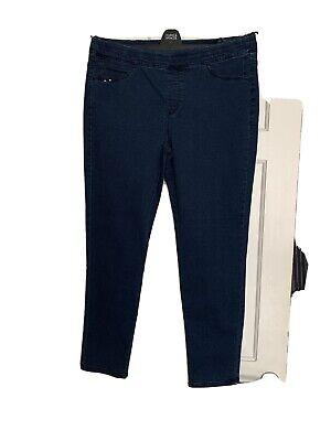 Kensie Jeans Dark Denim Straight Leg Jeans Size 14