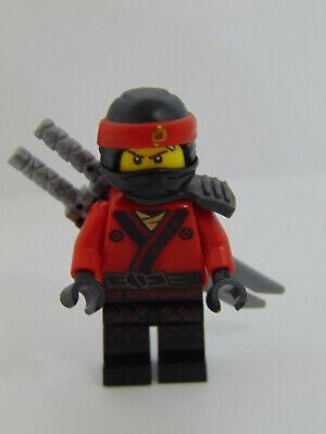 Genuine Lego Ninjago Movie  Kai Pearl Gray Katana Hodder Mini Figure njo316