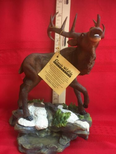 Classic Wildlife Collection Elk Figurine