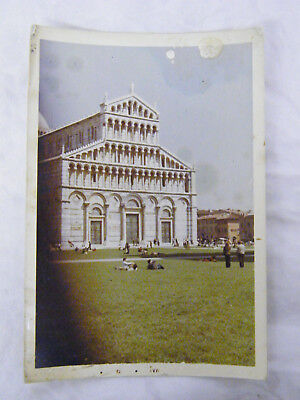 Vintage 1971 Real Photo of The Duomo Pisa, Italy