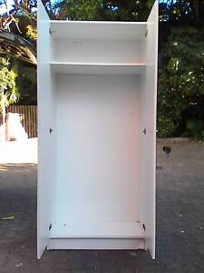Tall White Double Door linen, pantry, clothes etc. cupboard Nundah Brisbane North East Preview