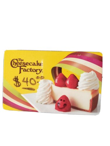 Cheesecake Factory Gift Card - $33.00