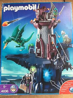 Playmobil 4836 Dragons Dungeon Knights Castle with Box