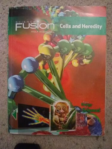 Science Fusion Cells And Heredity 2012 Paperback Holt McDougal - $7.49