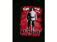 Andre The Giant 8 Bit Video Game Press Start Adult T Shirt WWE Wrestling
