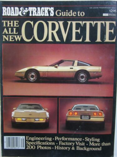 ROAD & TRACK SPECIAL 1983 GUIDE TO THE ALL NEW 1984 C4 CORVETTE